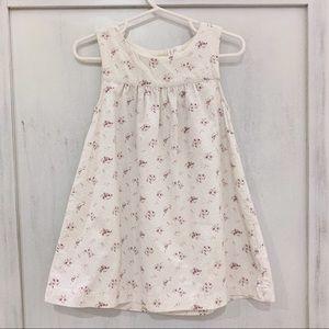 H&M toddler girl light corduroy sleeveless dress